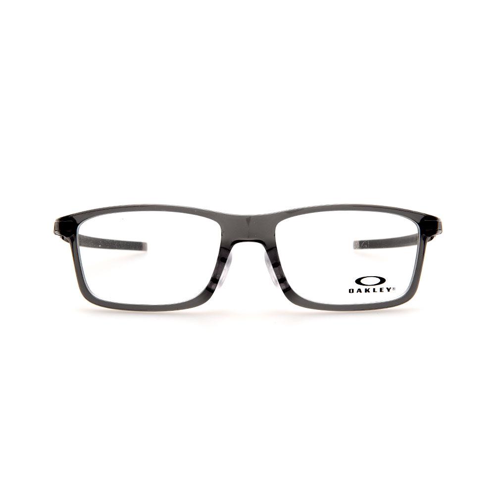 OAKLEY Pitchman (Asia Fit) OX8096-0655 Rectangle Grey Smoke Eyeglasses