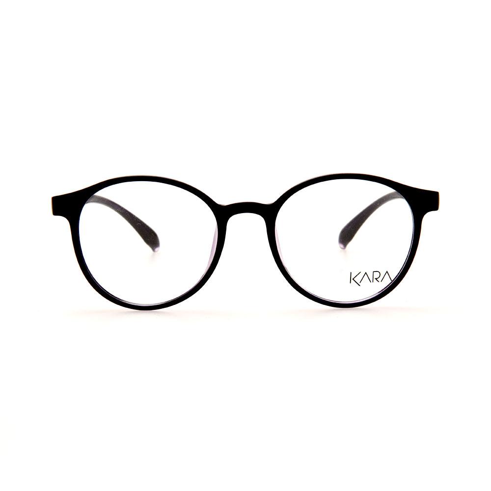 KARA BR2162 C4 Purple Oval Eyeglasses