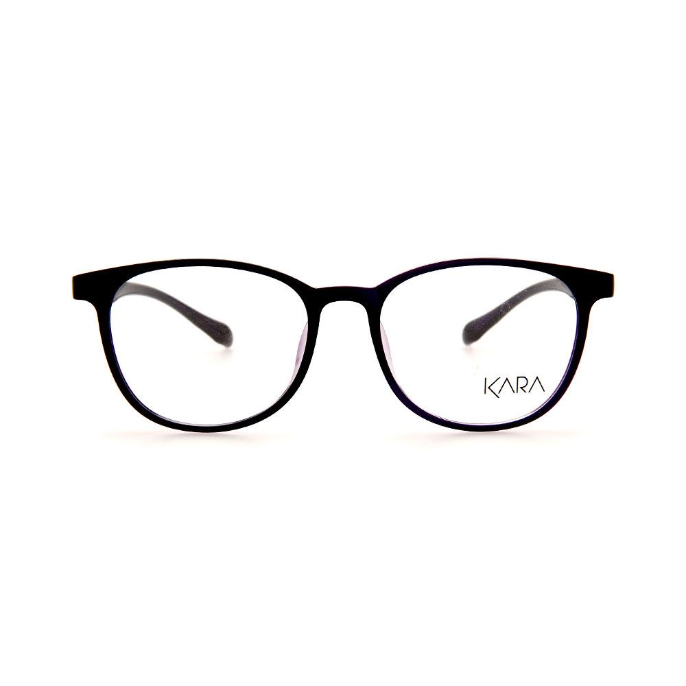 KARA BR2176 C4 Purple Square Eyeglasses