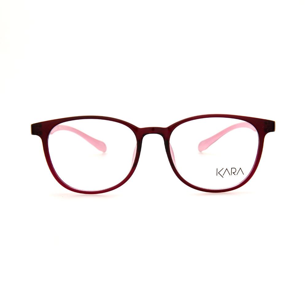 KARA BR2176 C5 Pink Square Eyeglasses