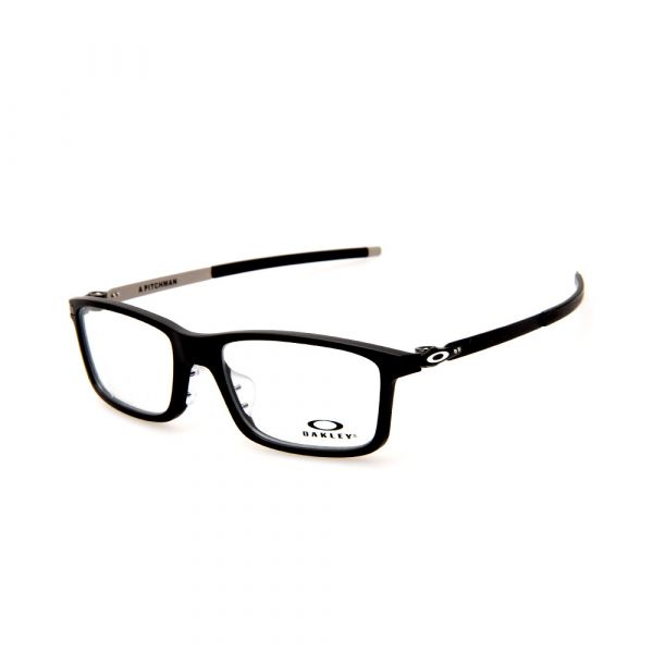 OAKLEY Pitchman (Asia Fit) OX8096-0155 Rectangle Satin Black Eyeglasses