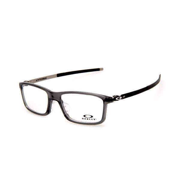 OAKLEY Pitchman (Asia Fit) OX8096-0655 Rectangle Grey Smoke Eyeglasses