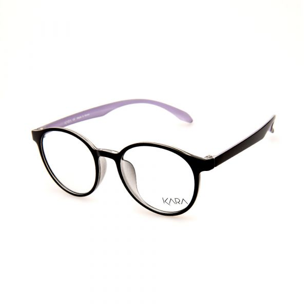 KARA BR2162 C5 Light Purple Oval Eyeglasses