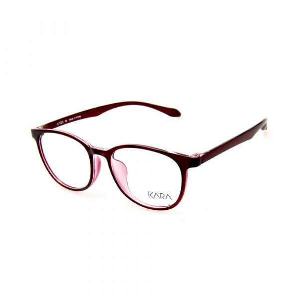 KARA BR2176 C3 Red Square Eyeglasses