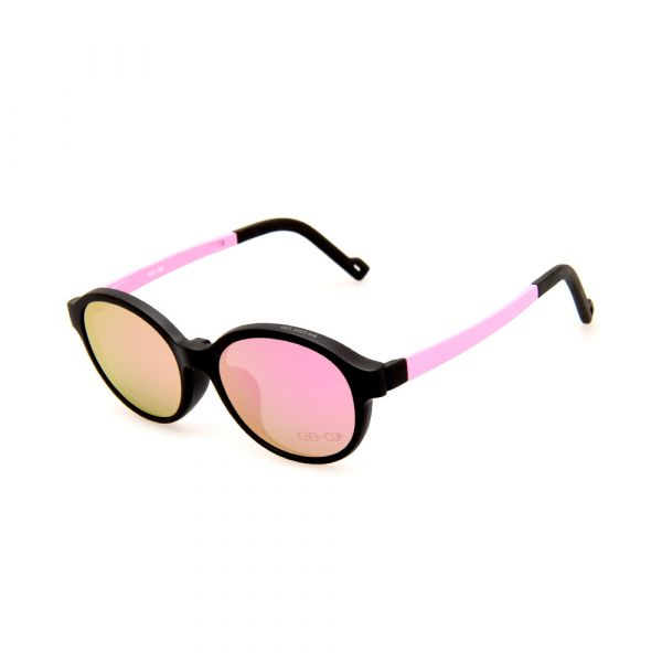 EZE CLIP Unisex Multipuporse Clip-On BW2303 C03 Yellow/Pink Lens Glasses
