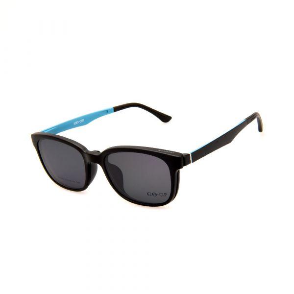 EZE CLIP Unisex Multipuporse Clip-On BW2009 C04 Yellow/Black Lens Glasses
