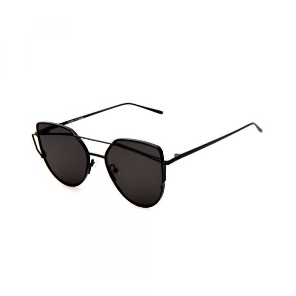 MADDOX Cat-Eye Female Black DE16393 C01 Sunglasses