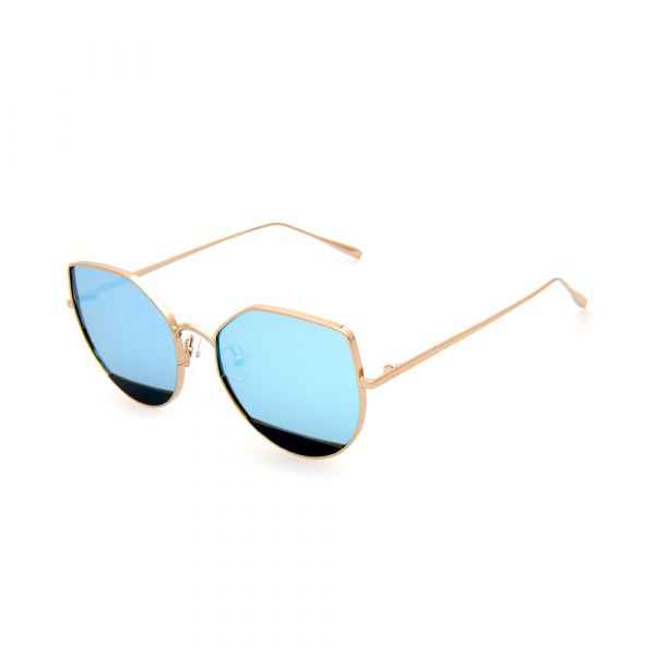 MADDOX Cat-Eye Female Gold DE16394 C02 Sunglasses