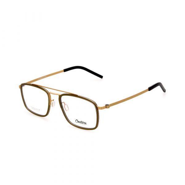 WHOOSH Couture Vintage Series Brown/Gold DFTI6290 C3 Male Eyeglasses