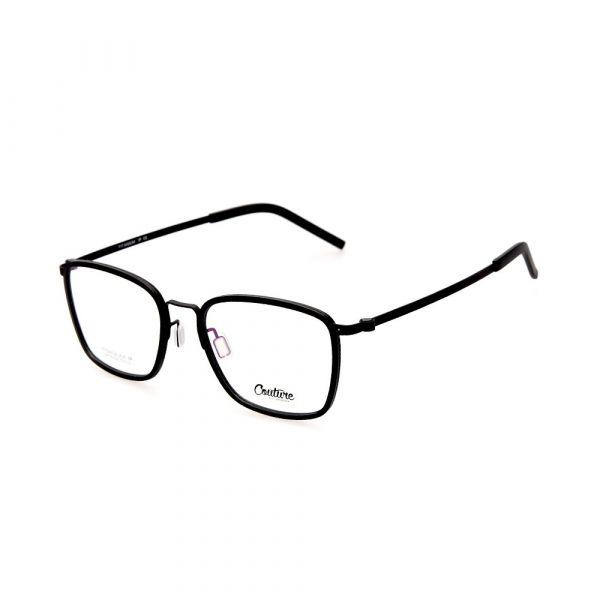 WHOOSH Couture Vintage Series Black DFTI6292 C1 Male Eyeglasses