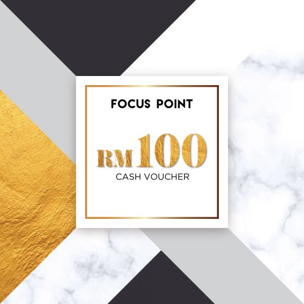 Focus Point RM100 Cash Voucher