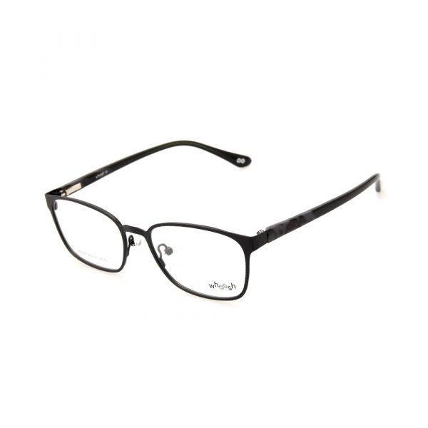 WHOOSH Urban Series Black Rectangle HE5372 C1 Eyeglasses