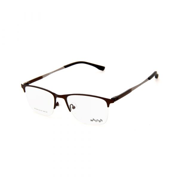 WHOOSH Urban Series Brown Rectangle HE5374 C3 Eyeglasses