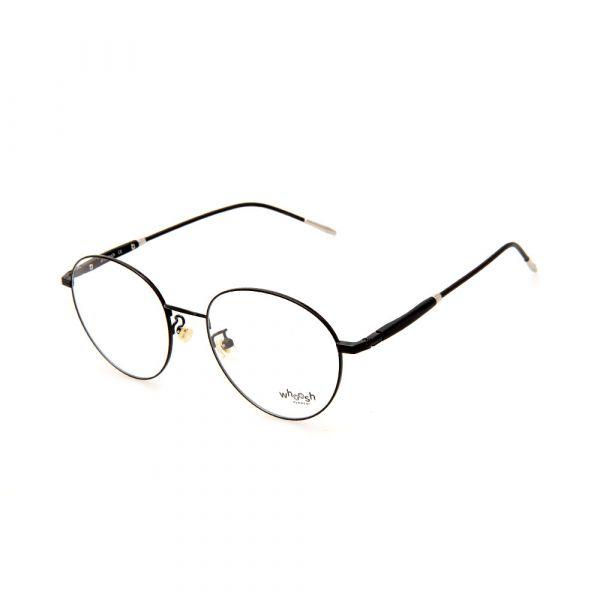 WHOOSH Vintage Series Black Round WFIH1025 C10 Eyeglasses