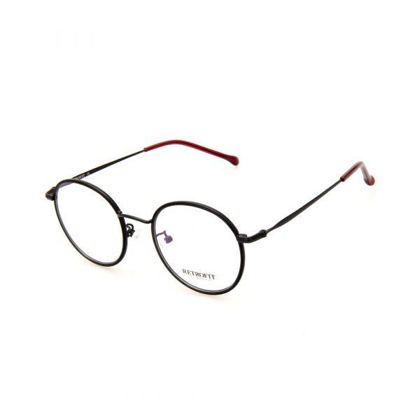 RETROFIT WFIH1032 C37 Black Round Eyeglasses