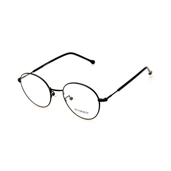 RETROFIT WFIH1049 C1 Black Eyeglasses