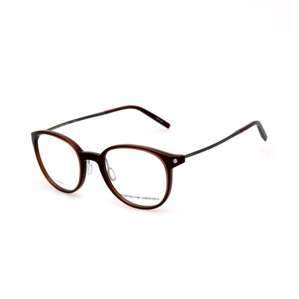 PORSCHE DESIGN Brown Round 8335 B Eyeglasses