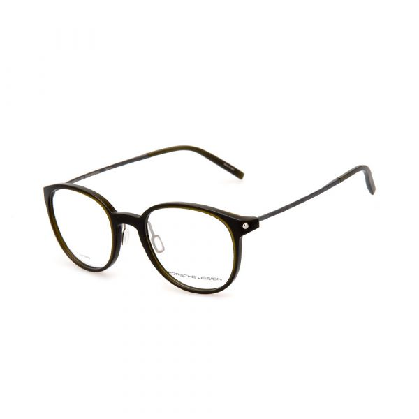 PORSCHE DESIGN Brown Round 8335 C Eyeglasses