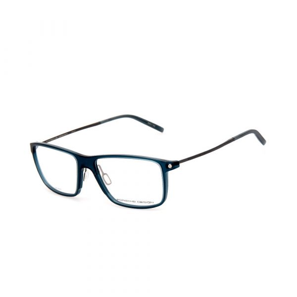 PORSCHE DESIGN Blue Rectangle 8336 C Eyeglasses