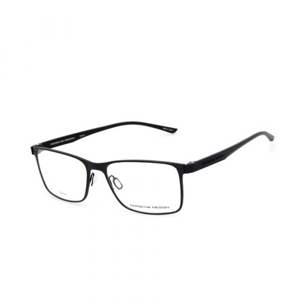 PORSCHE DESIGN Black Rectangle 8346 A Eyeglasses