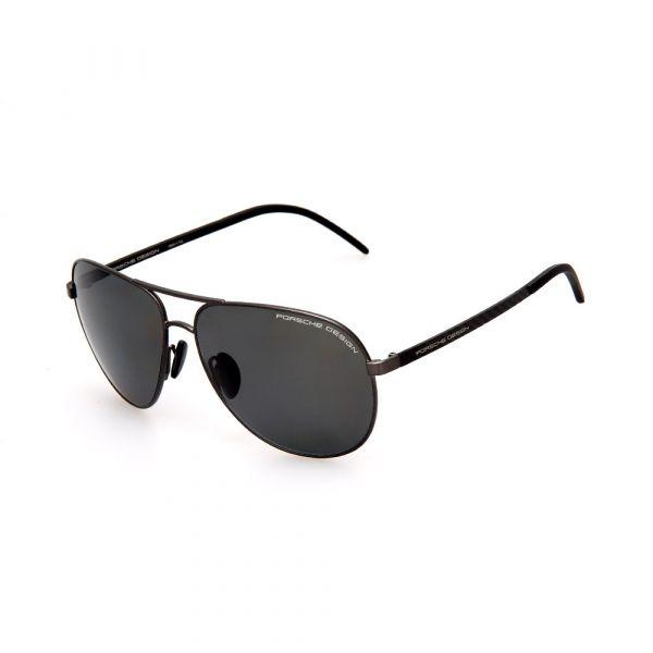 PORSCHE DESIGN Black Aviator 8651 D Sunglasses