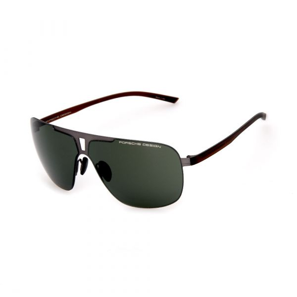 PORSCHE DESIGN Black Aviator 8655 B Sunglasses