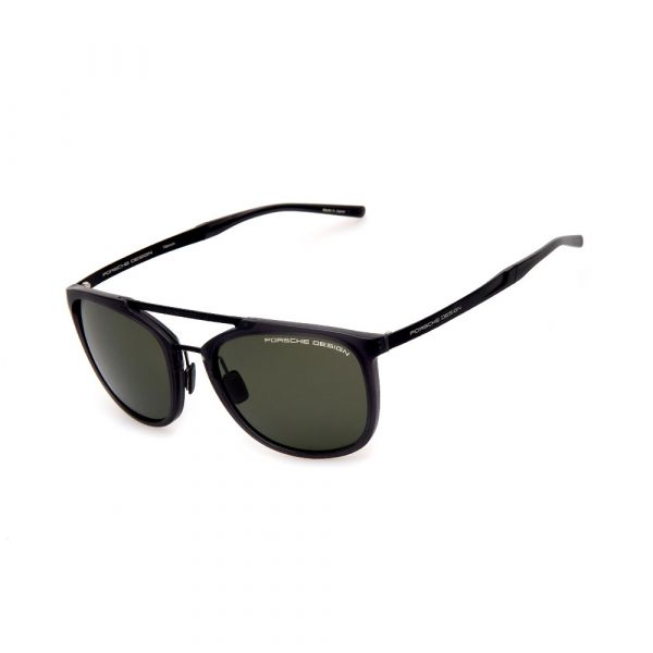 PORSCHE DESIGN Black/Grey Aviator 8671 A Sunglasses