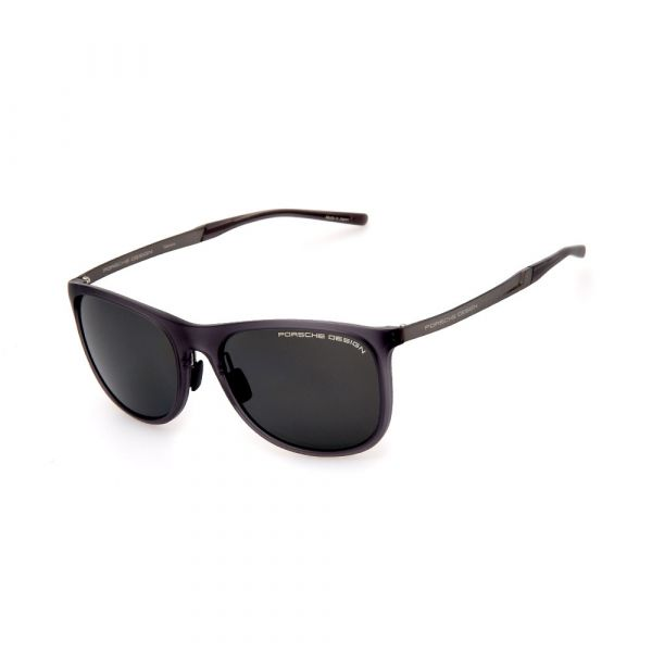 PORSCHE DESIGN Black 8672 D Sunglasses