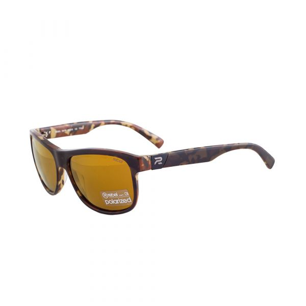 REBEL RBL7847 RTT032 Ace Male Tortoise Amber Polarized  Sunglasses