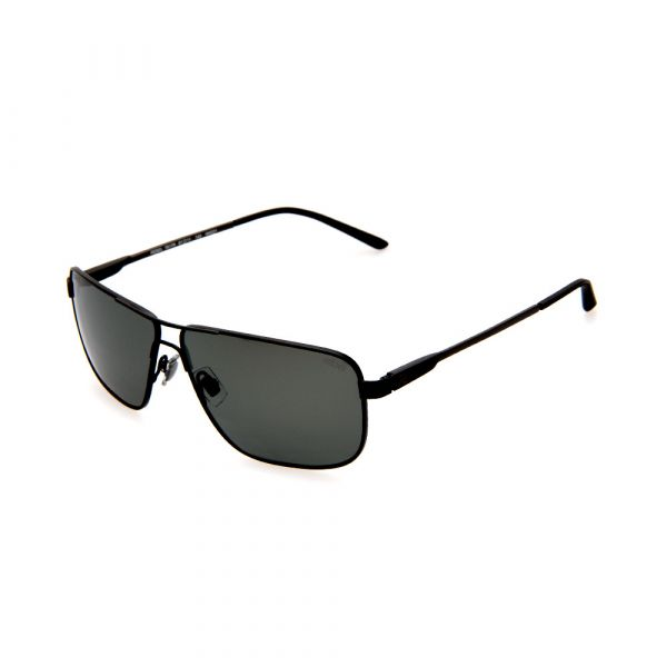REBEL RBL7817R NN021 Polaroized Black Rectangle Male Sunglasses