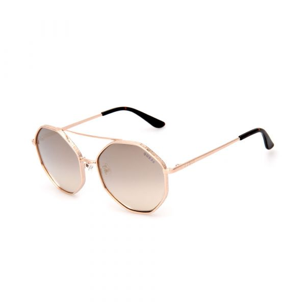 GUESS GU7636-F 32C Octagon Sunglasses