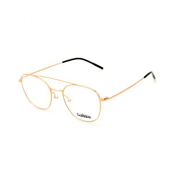 TANOSHI DE16318 C01 Avaitor Gold Eyeglasses