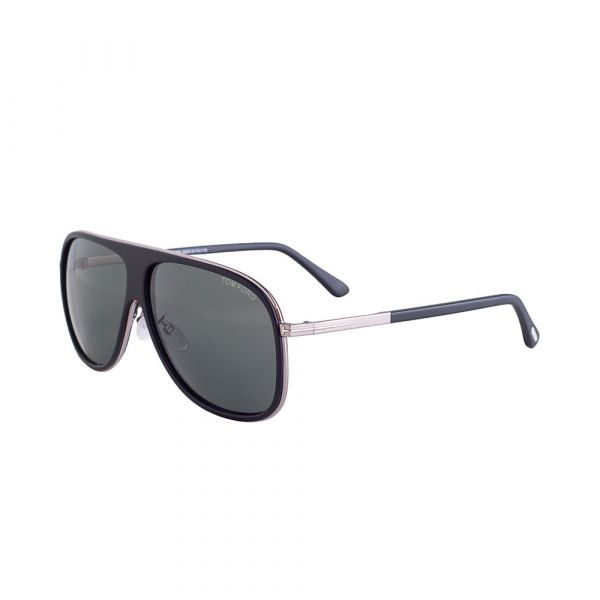 TOM FORD Chris Aviator Black Sunglasses TF462