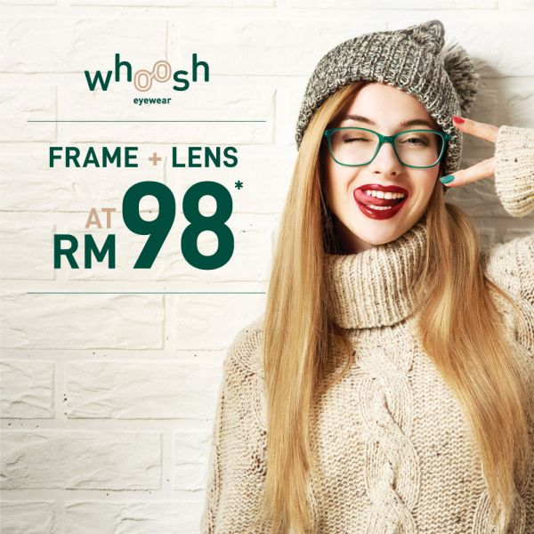 Whoosh Frame + Lens Package