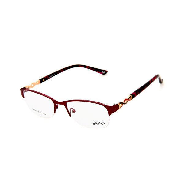 WHOOSH Urban Series Tortoise Pink Rectangle HE5217 C2 Eyeglasses