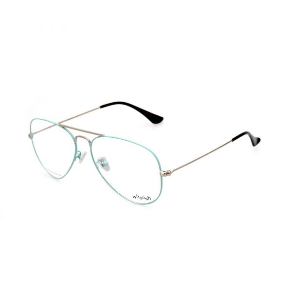 WHOOSH Trendy Series Baby Blue Aviator HE1001 C8 Unisex Eyeglasses