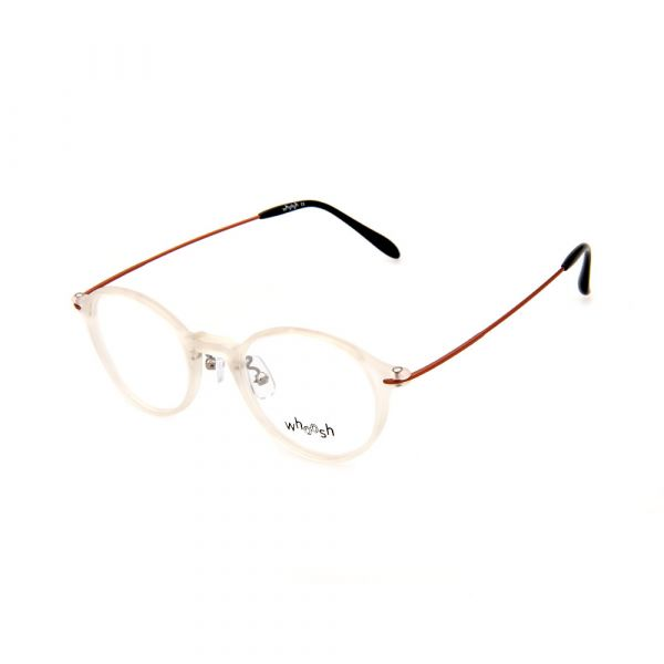 WHOOSH Trendy Series Round Crystal Clear OK16281 C2 Eyeglasses