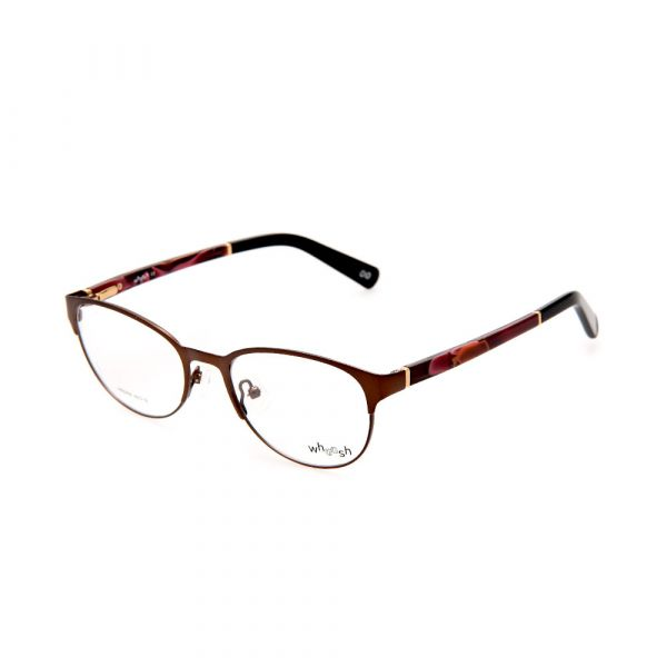 WHOOSH Urban Series Maroon Oval HE5209 C3 Woman Eyeglasses