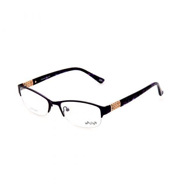 WHOOSH Urban Series Lifestyle Black Rectangle HE5210 C2 Woman Eyeglasses