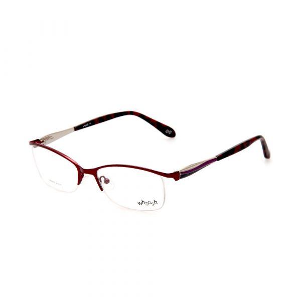WHOOSH Urban Series Dark Brown Rectangle HE521 C3 Man Eyeglasses