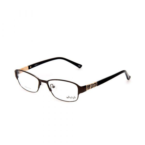 WHOOSH Urban Series Black Rectangle HE5212 C1 Woman Eyeglasses