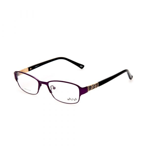 WHOOSH Urban Series Dark Purple Rectangle HE5212 C3 Woman Eyeglasses