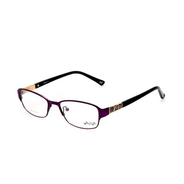 WHOOSH Urban Series Dark Purple Rectangle HE5212 C3 Woman Eyeglasses