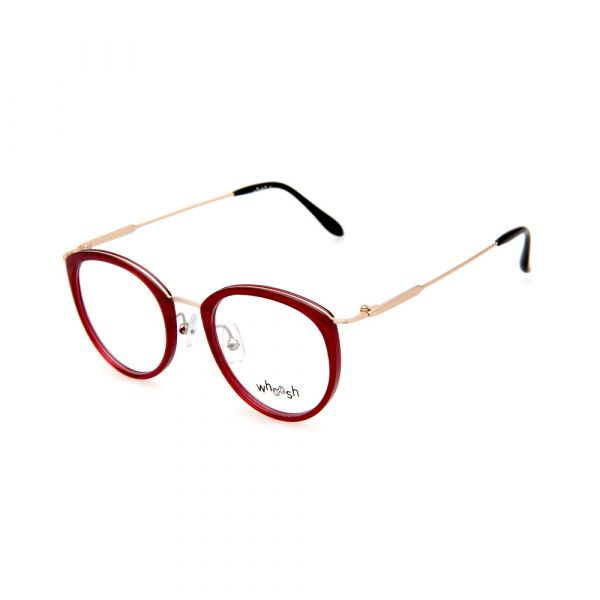 WHOOSH Vintage Series Oval Red OK15907 C3 Eyeglasses