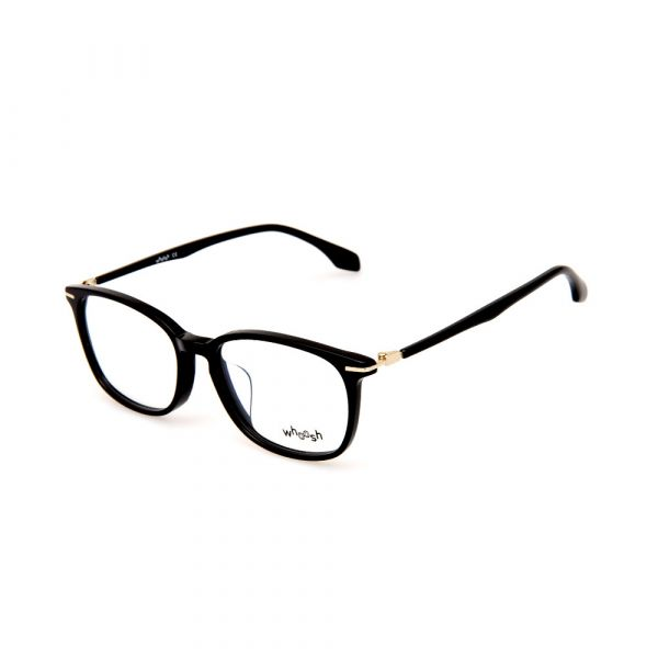 WHOOSH Vintage Series HEJ9161 C1 Black Square Male Eyeglasses