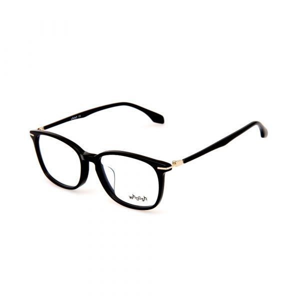 WHOOSH Vintage Series HEJ9161 C1 Black Square Male Eyeglasses