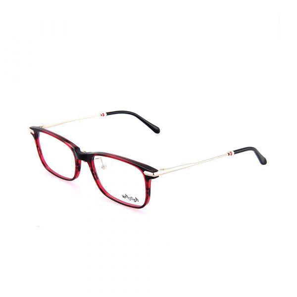 WHOOSH Vintage Series Red & Black Rectangle HES-143 C4 Eyewear