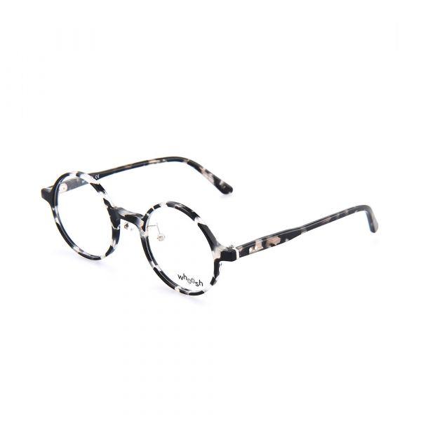 WHOOSH Vintage Series Black & White Round HES-156 C3 Eyewear