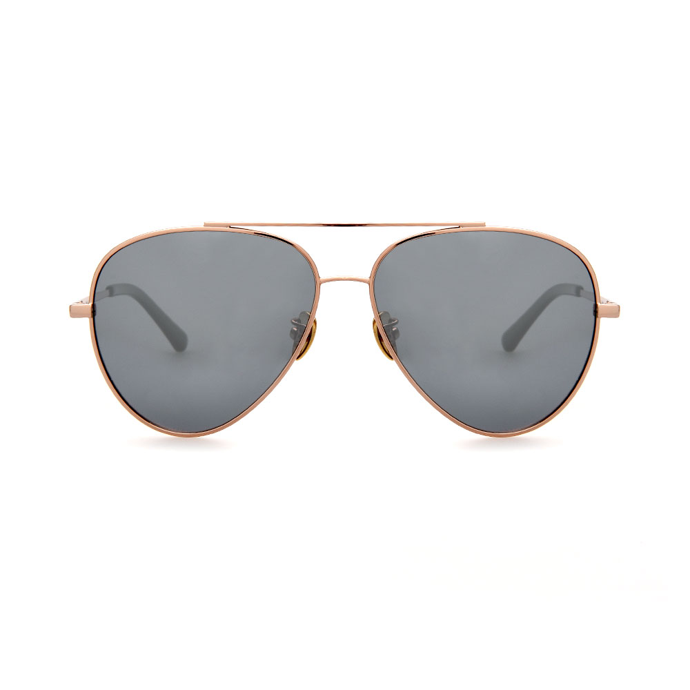 WHOOSH Sunnies Series Rose Gold Aviator DE16204 C04 Sunglasses