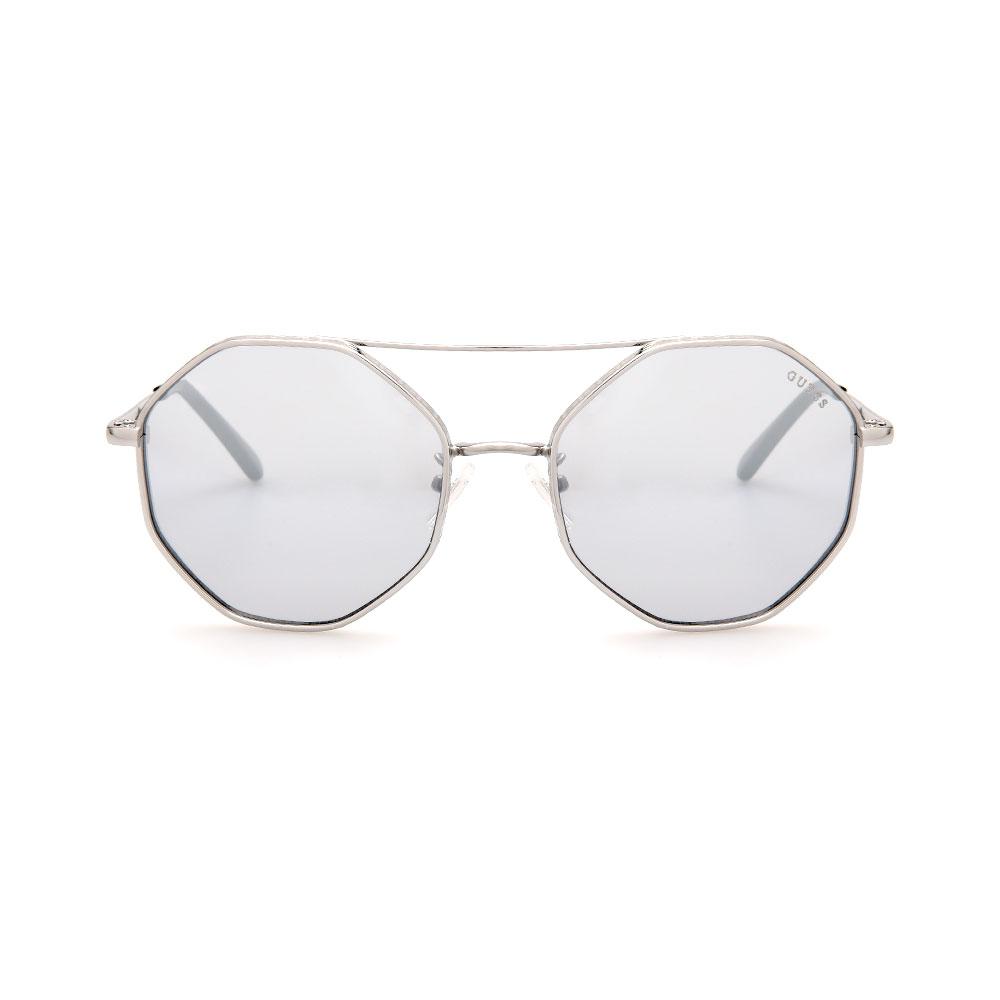 GUESS GU7636-F 10C Aviator Sunglasses